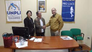 Giusy Ruberto, Salvatore Lucchino e Gianfranco Caputo