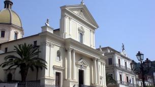 La cattedrale di Lamezia Terme, dedicata ai patroni SS. Pietro e Paolo