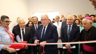 L'inaugurazione del Centro Protesi
