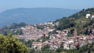 Scorcio panoramico di Conflenti (Catanzaro)