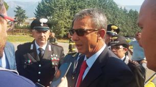 Il ministro Costa a Civita