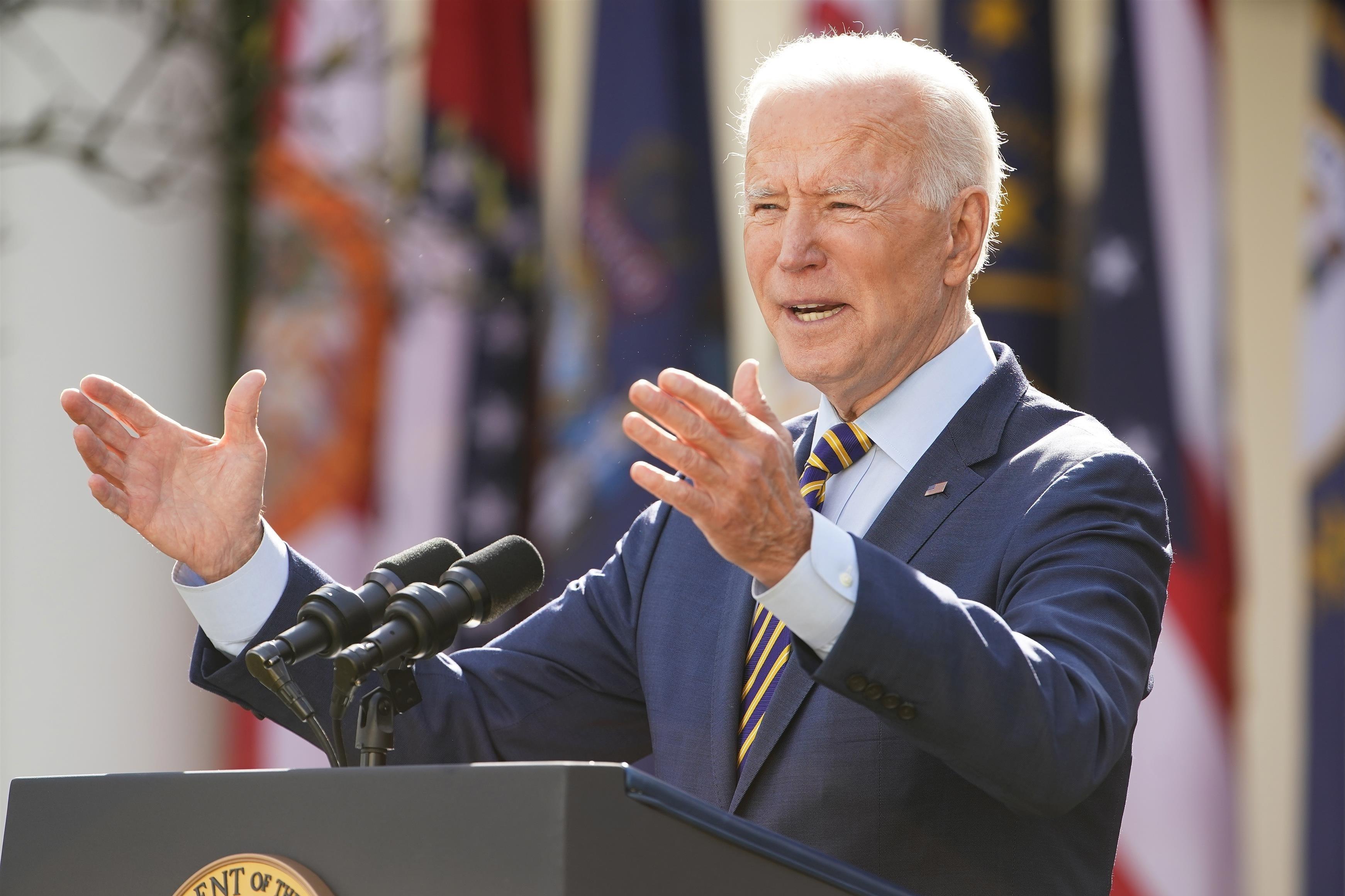 """Covid Usa, Biden: """"Ritorno alla normalità entro fine estate"""""""