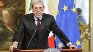 Il Ministro Claudio De Vincenti