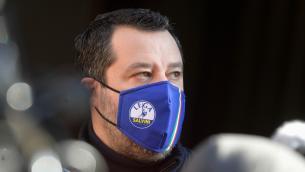 """Dimissioni Conte, Salvini: """"Ridare la parola agli italiani"""""""