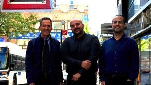 Una parte del team Unical. Da sx: Nicola Leone, Mario Alviano, Carmine Dodaro