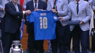 """Draghi agli azzurri: """"Ora siete nella storia"""""""