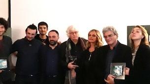 Da sx: Le coliche, Gianlorenzo Franzì, Jean Jacques Annaud, Isabella Ferrari, Mario Martone, Ippolita Di Majo
