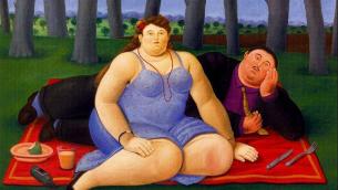 Fernando Botero: «Picnic»