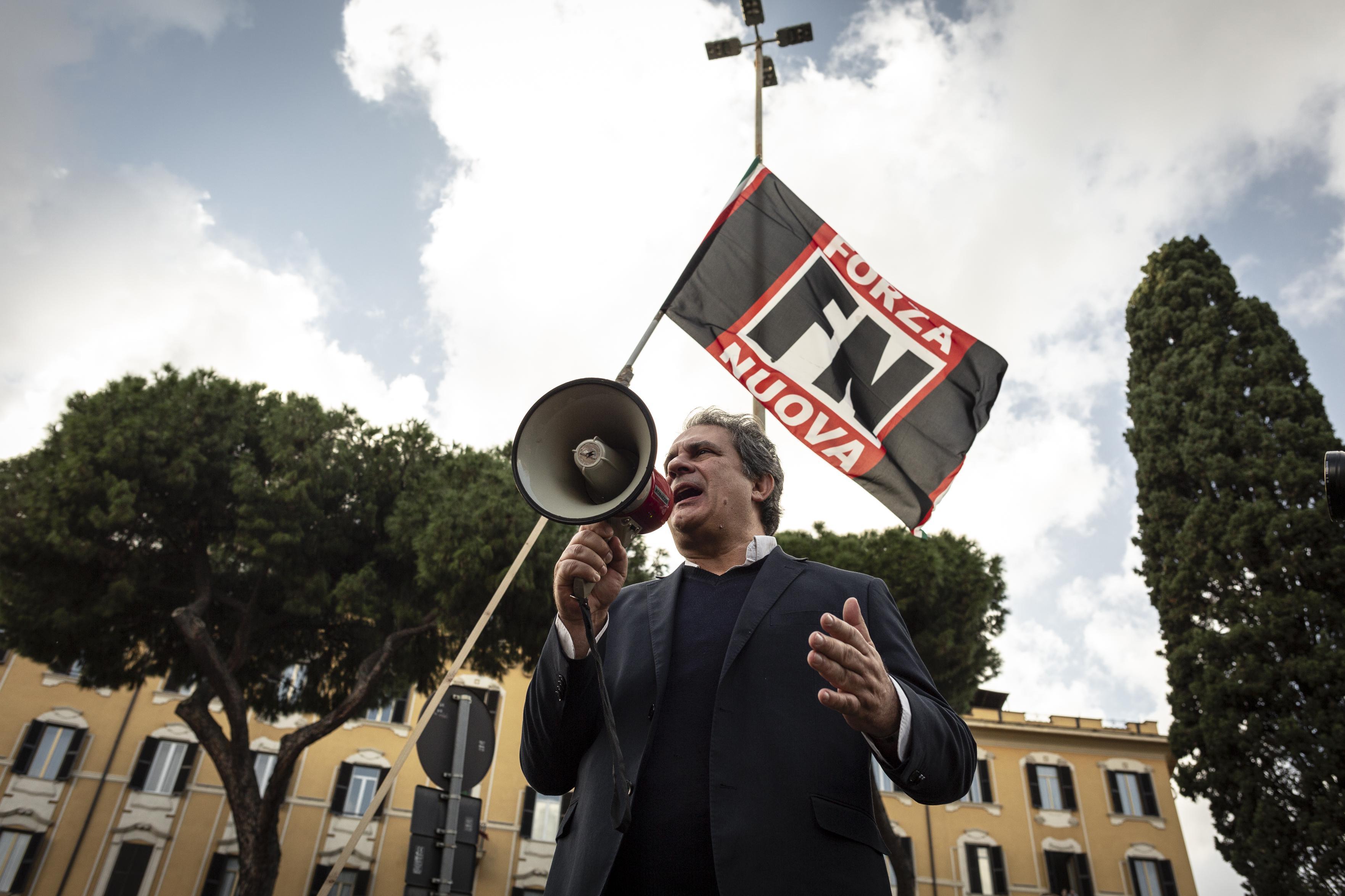 """Forza Nuova, Castellino e Fiore: """"Movimento non opera da 20 mesi"""""""