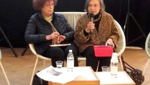 Maria Rosa Cutrufelli e Annarosa Macrì