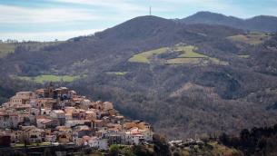 Panorama di Garaguso (foto di Paki Cassano)