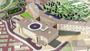 Il progetto del nuovo ospedale di Gioia Tauro