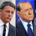 Grasso, Renzi, Berlusconi e Di Maio