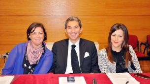 Il Gruppo consiliare di «Lamezia Unita»: Grandinetti, Muraca e Raso