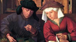 Quentin Metsys: «Il banchiere e sua moglie» (1514 circa)