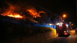 Incendi, Draghi firma dpcm mobilitazione nazionale per Sicilia