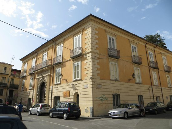 Palazzo Nicotera, sede della Biblioteca comunale di Lamezia Terme