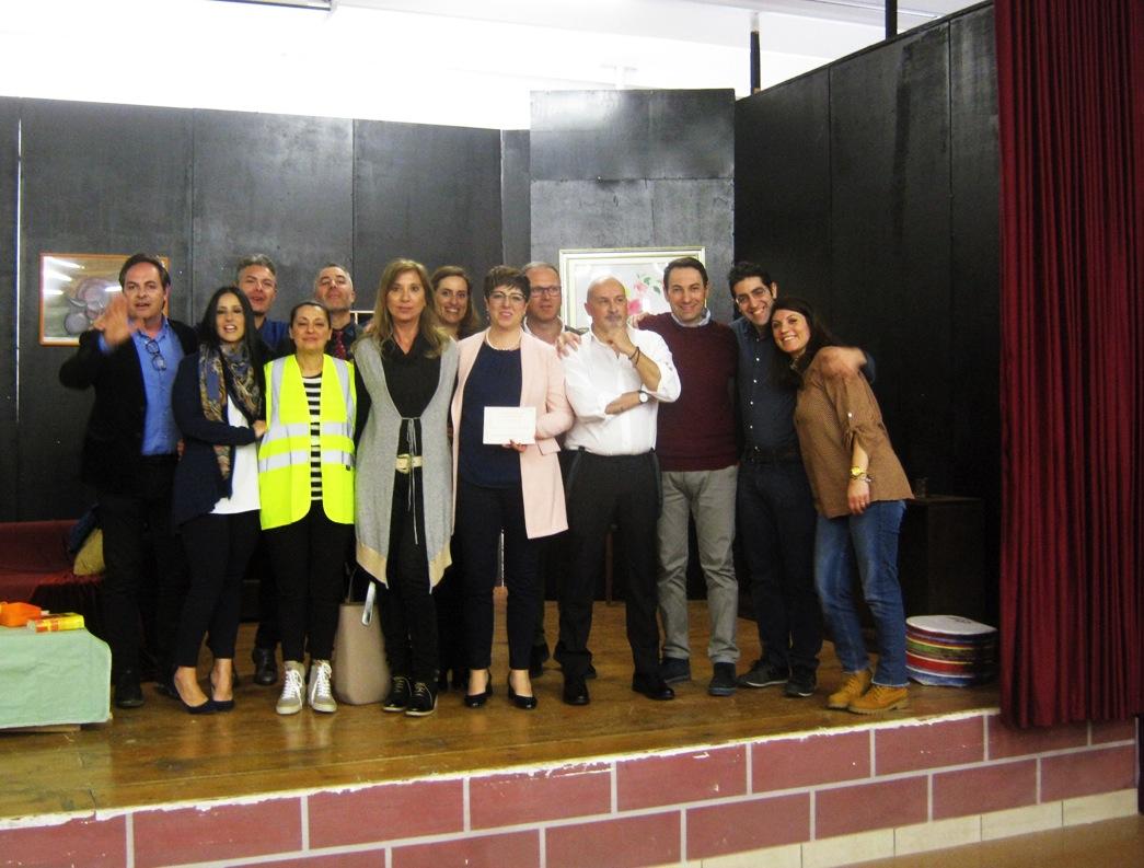 La compagnia La ribalta con la direttrice Angela Paravati