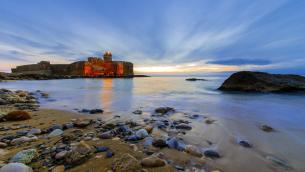 La fortezza aragonese a Le Castella di Isola Capo Rizzuto (Crotone) fotografata da Mario Greco