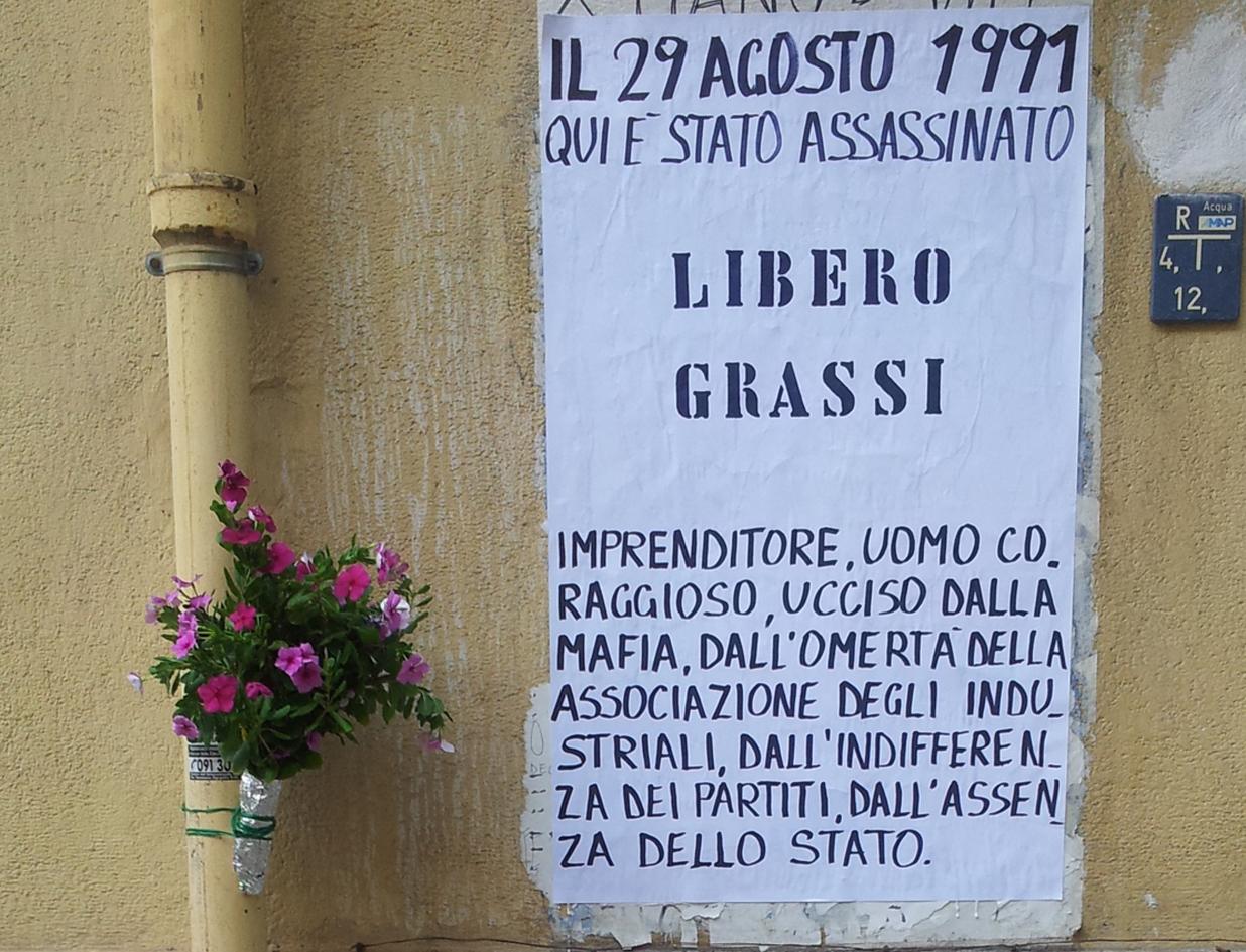 Palermo ricorda l'imprenditore antiracket, il Parco Libero Grassi riapre le porte