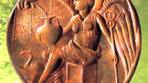 La moneta raffigurante Ligea ritrovata a Terina