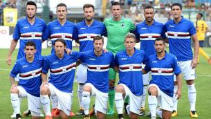 Calcio/E' della Sampdoria la maglia pi˘ bella del mondo