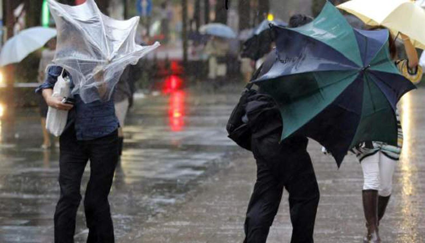 Protezione civile Campania: allerta meteo dalle prime ore di domani