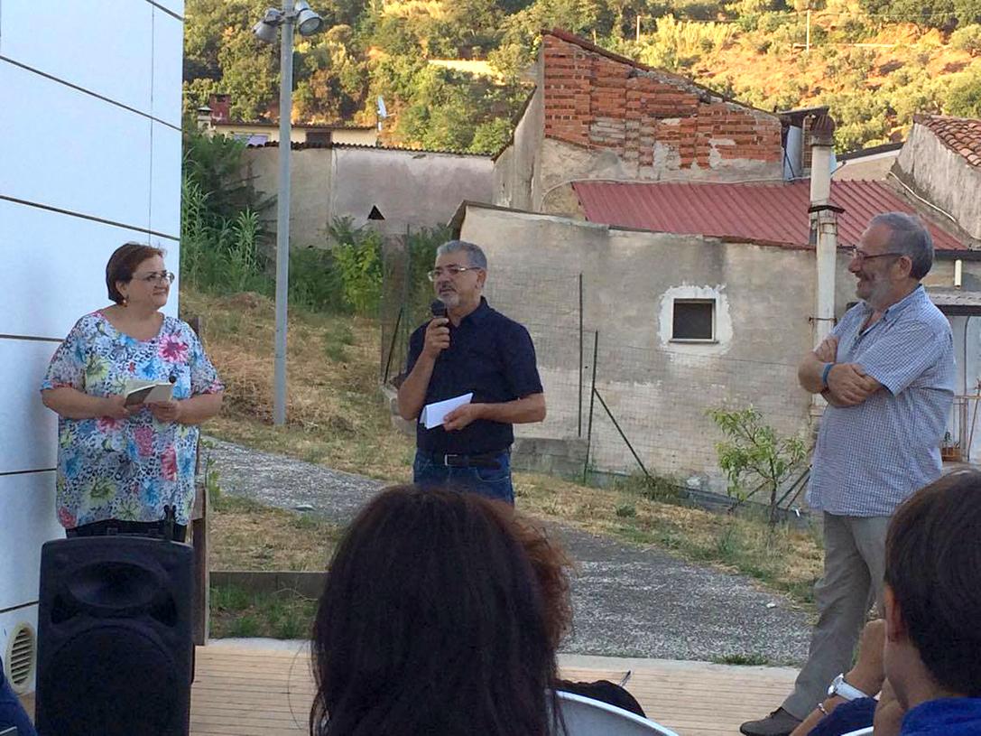 Nella foto: Maria Scaramuzzino, Rocco Mangiardi e Federico Arcuri