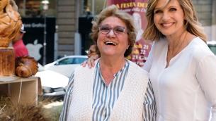 Maria Grazia Panella con Lorella Cuccarini