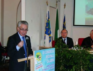 A SX Vincenzo Massara - presidente MCL Calabria