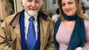 José Van Roy Dalì  e Teresa Matera