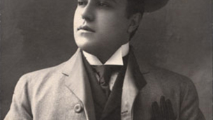 Michele Pane in una foto del 1906 tratta dal sito www.michelepane.it