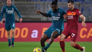 Milan espugna l'Olimpico, 2-1 alla Roma