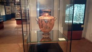 Una delle sale del Museo archeologico lametino