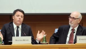 Conferenza stampa di fine anno di Matteo Renzi