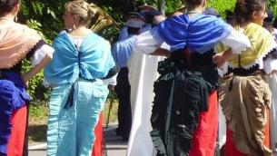Le pacchiane del gruppo folkloristico I Calabruzi di Lamezia Terme