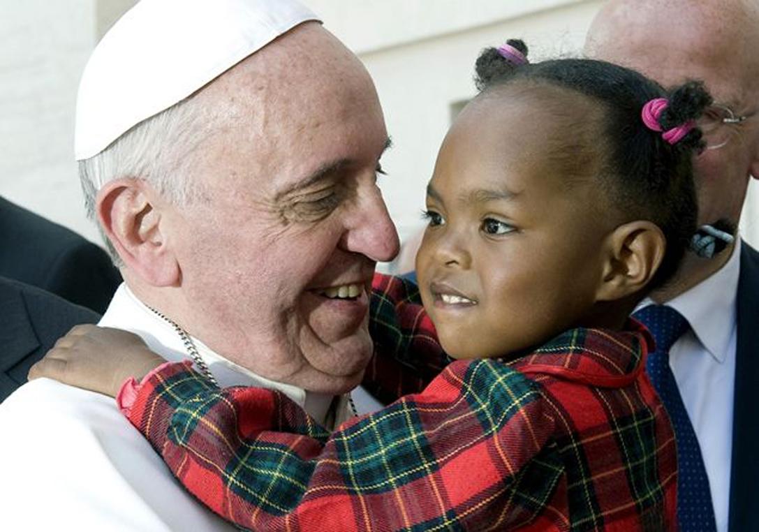 Papa Francesco a Lampedusa nel 2013