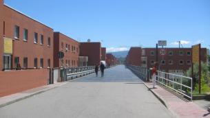 Il ponte dell'Università della Calabria