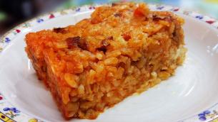riso-forno-ragu-veg-mozzarella-melenzane