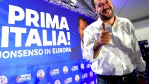 >>>ANSA/ SALVINI IN PRESSING SUL GOVERNO, DI MAIO CHIEDE UN VERTICE
