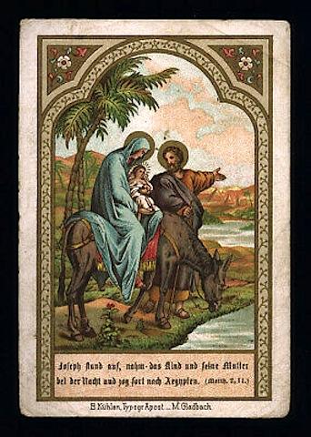 santino-cromo-holy-card-la-fuga-in-egitto-2