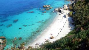 La spiaggia di Michelino (Calabria)