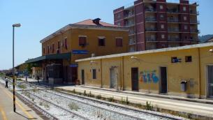 La stazione di Lamezia Terme-Nicastro
