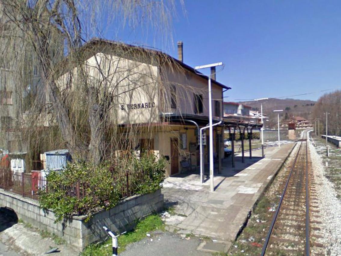 La stazione delle FdC di San Bernardo di Decollatura