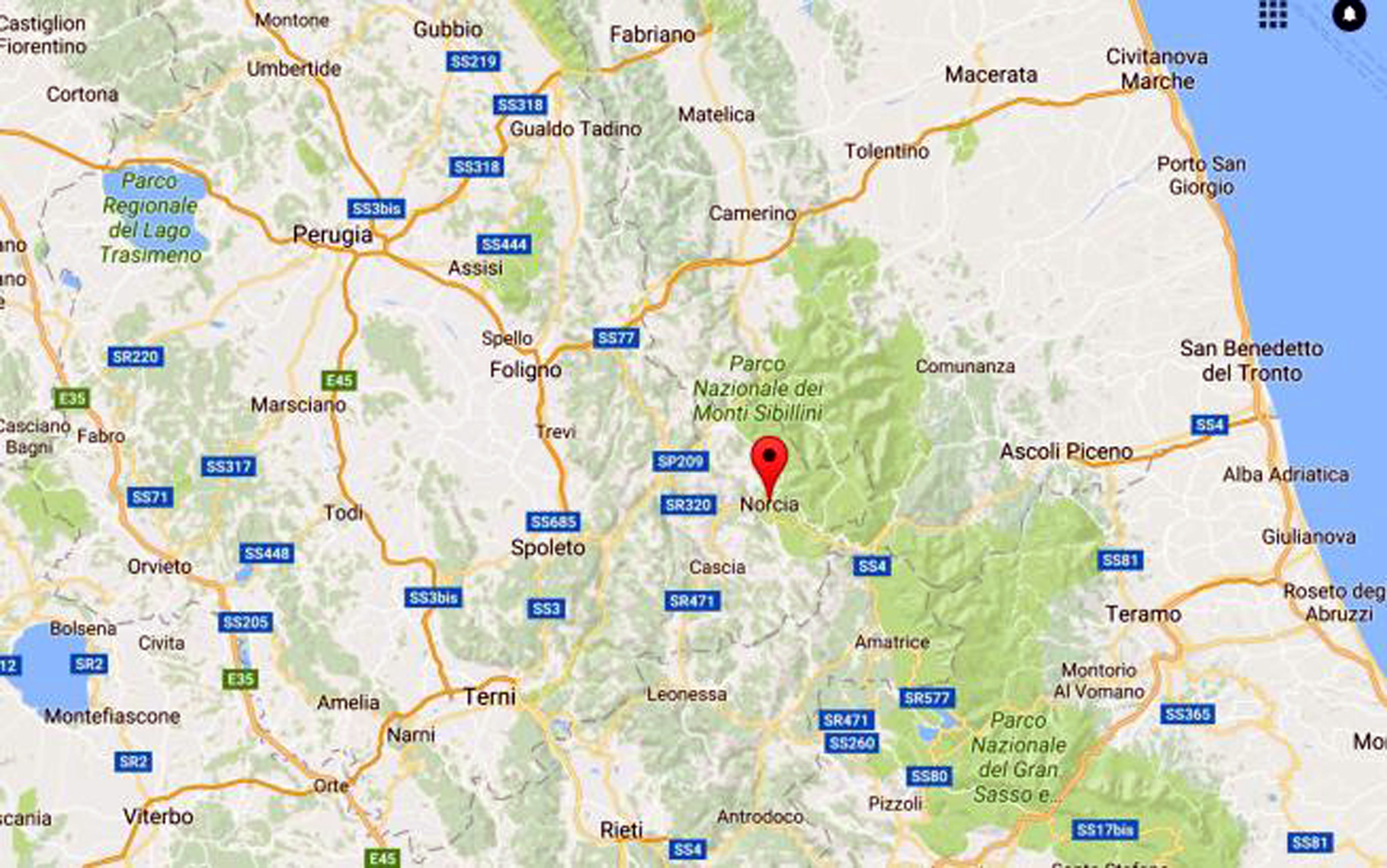 Terremoto 30 Ottobre, Perugia chiusa Galleria Nazionale Umbria per verifica stabilita'