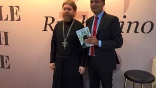 Il vescovo Tichon con Florindo Rubettino