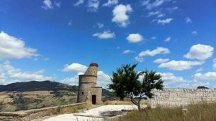 La torre saracena a Tricarico - Foto di Marino Pagano
