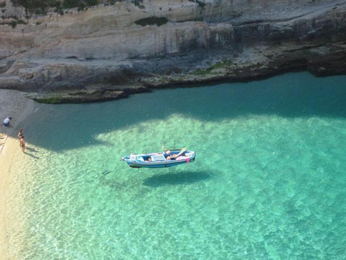 Il mare di Tropea in Calabria