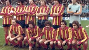 Una formazione del Catanzaro nella stagione di Serie A 1979-1980