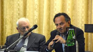 L'avvocato Armando Veneto e lo scrittore Antonio Cannone